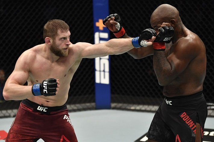 UFC 257 Results: Marcin Prachnio Survives Knockdown, Outvolumes Khalil Rountree Jr to Claim First UFC Victory