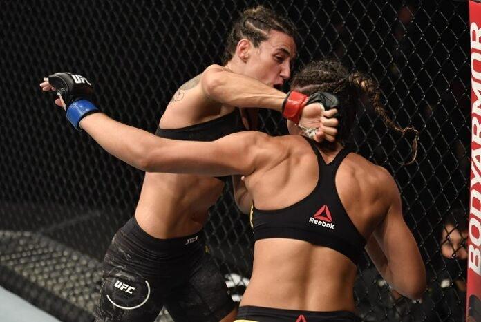 Marina Rodriguez and Amanda Ribas, UFC 257