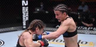 Sam Hughes and Tecia Torres, UFC 256