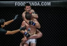Shinya Aoki and James Nakashima at ONE Championship: Unbreakable