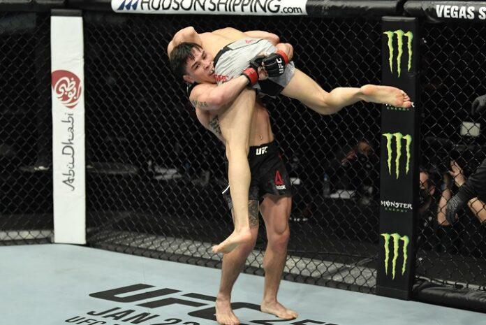 Ricky Simon and Gaetano Pirrello, UFC Fight Island 8