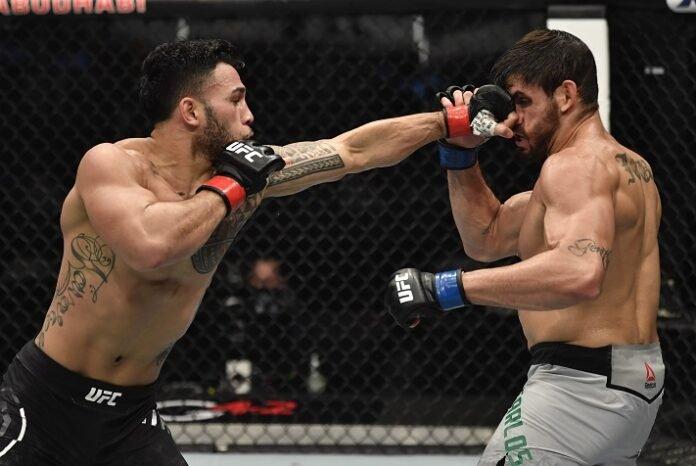 Brad Tavares and Antonio Carlos Junior, UFC 257