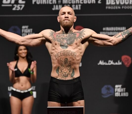 Conor McGregor, UFC 257