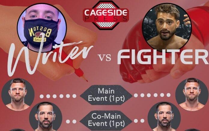 Writer vs Fighter UFC FIght Island 7