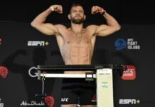 Calvin Kattar, UFC Fight Island 8 weigh-in