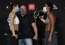 Wu Yanan and Joselyne Edwards, UFC FIght Island 7