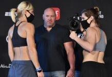 Manon Fiorot and Victoria Leonardo, UFC Fight Island 8
