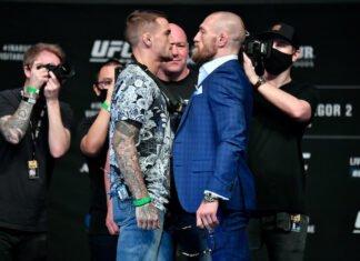 Dustin Poirier and Conor McGregor, UFC