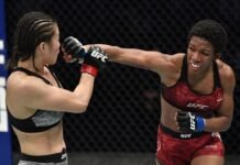 Yu Wana and Joselyne Edwards, UFC Fight Island 7