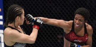 Yu Wana and Joselyne Edwards, UFC Fight Island 7