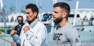 Max Holloway and Calvin Kattar, UFC Fight Island 7