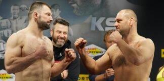 Szymon Kolecki and David Zawada, KSW 58