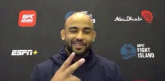 Warlley Alves, UFC Fight Island 8