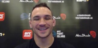 Michael Chandler, UFC 257 media day