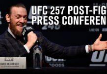 UFC 257 press conference live stream