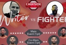 Writer vs Fighter UFC Fight Island 8