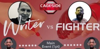 Writer vs Fighter UFC Fight Island 8