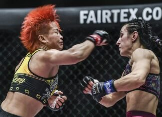 Stamp Fairtex vs Alyona Rassohyna at ONE Championship: Unbreakable III