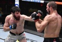 Nikita Krylov and Magomed Ankalaev, UFC Vegas 20