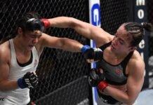 Maycee Barber and Alexa Grasso, UFC 258