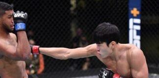 Youssef Zalal and Seung Woo Choi, UFC Vegas 18