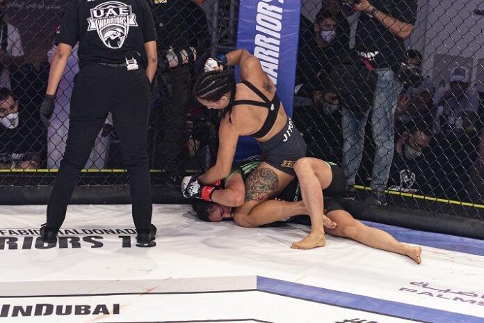 Casey O'Neill makes her octagon debut at UFC Vegas 19