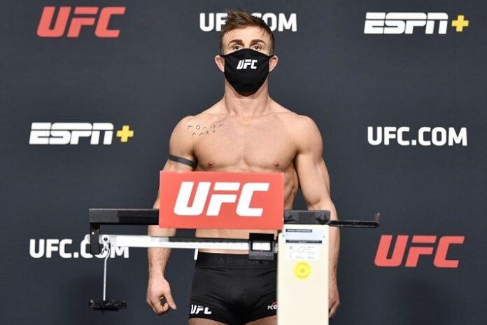 Cody Stamann UFC Vegas 18 weigh-in