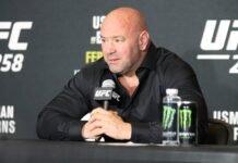Dana White UFC 258
