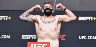 Chris Daukaus UFC Vegas 19