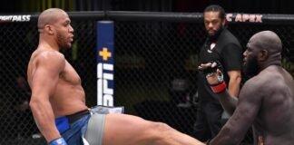 Ciryl Gane and Jairzinho Rozenstruik, UFC Vegas 20