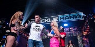 Britain Hart and Paige VanZant, BKFC KnuckleMania