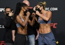 Angela Hill and Ashley Yoder, UFC Vegas 20