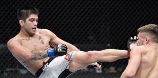 John Castaneda and Nathaniel Wood, UFC Fight Island 3