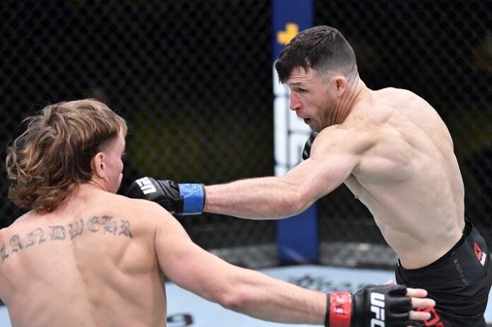 Nate Landwehr and Julian Erosa, UFC Vegas 19