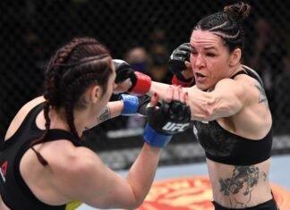 Alexis Davis and Sabina Mazo, UFC Vegas 20