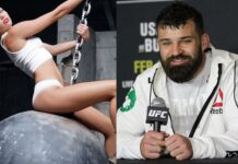 Miley Cyrus and Julian Marquez