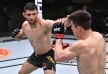 Thiago Moises and Alexander Hernandez, UFC Vegas 20