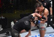 Montana De La Rosa and Mayra Bueno Silva, UFC Vegas 20