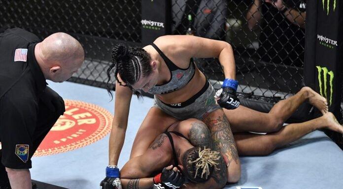 Casey O'Neill and Shana Dobson, UFC Vegas 19