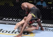 Ode Osbourne knocks out Jerome Rivera at UFC Vegas 18