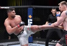 Alistair Overeem and Alexander Volkov, UFC Vegas 18