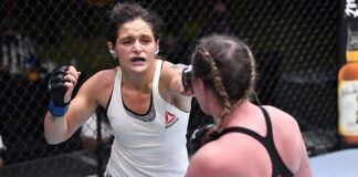 Lara Procopio and Molly McCann, UFC Vegas 18