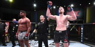 AListair Overeem and Alexander Volkov, UFC Vegas 18