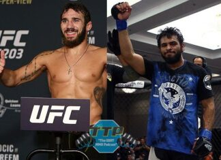 Jimmie Rivera and Gabriel Green, UFC