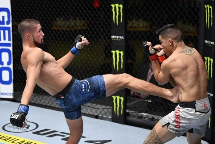 Vince Cachero and Ronnie Lawrence, UFC Vegas 20