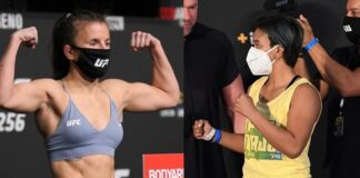 Sam Hughes and Loma Lookboonmee, UFC