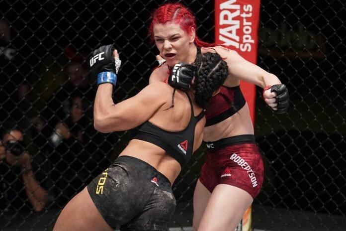 Taila Santos and Gillian Robertson, UFC Vegas 17