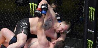 Sergey Spivak and Jared Vanderaa, UFC Vegas 19