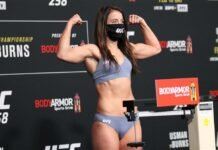 Maycee Barber, UFC 258 weigh-in