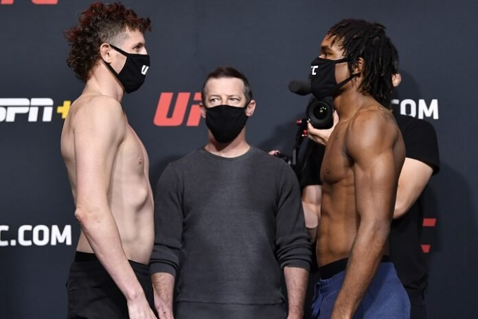 Chas Skelly and Jamall Emmer, UFC Vegas 19